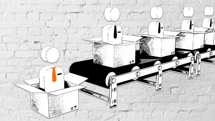 Roboter vom Fließband