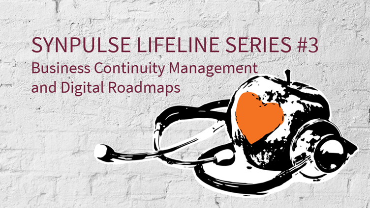 Business Continuity Management and Digital Roadmaps