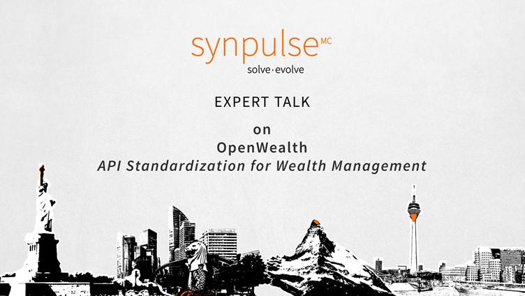 Expert Talk «API Standardization for Wealth Management»