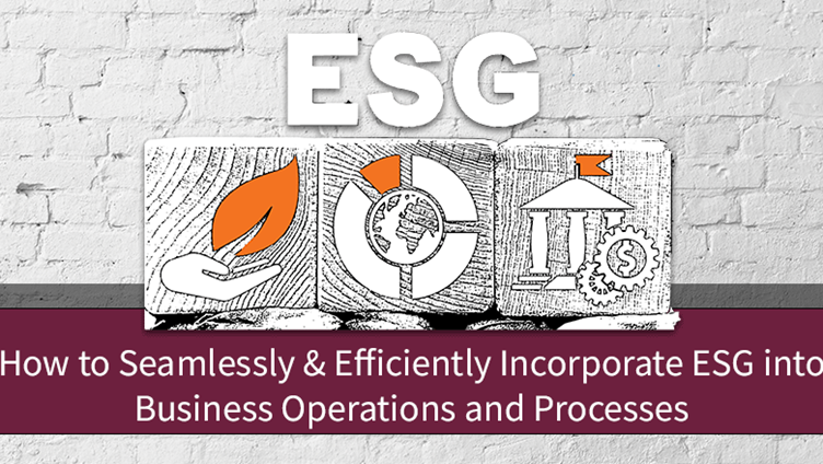 Seamless and Efficient ESG Incorporation